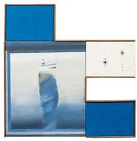sans titre (in 4 parts) by jean le gac