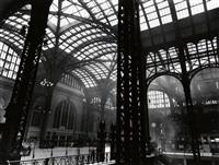 penn station, new york by berenice abbott