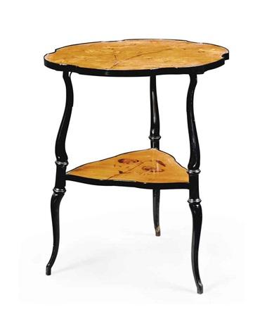 occasional table by émile gallé