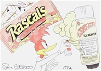rascals/graffiti remover by ronnie cutrone