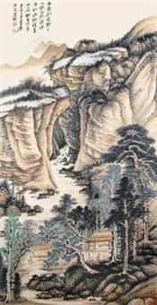 秋林晴晖 by zhang daqian