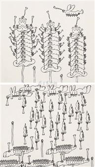 无题 (untitled) (2 works) by gu dexin