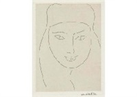 une religieuse a l'expression candide by henri matisse