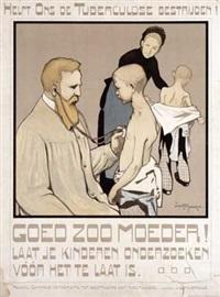 helpt ons de tuberculose bestrijden! by louis raemaekers