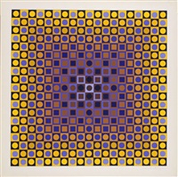 ohne titel by victor vasarely