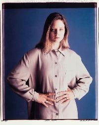 jodie foster by timothy greenfield-sanders