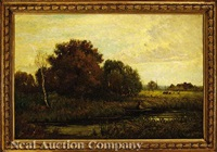 landscape by samuel bough