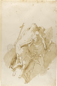 the assumption of mary magdalene by giovanni battista tiepolo