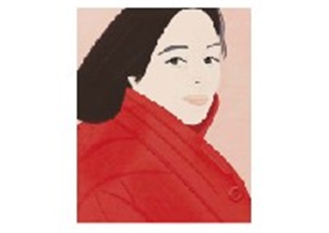 brisk day by alex katz