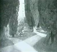 im park von san vigilio (lago di garda) by curt agthe