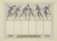 berliner tageblatt (winterreigen) by hugo hoppener fidus