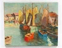 fishing boats by arturo pacheco altamirano