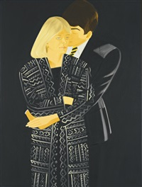 vicki and wally by alex katz
