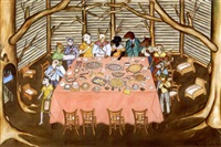 untitled (allegorical banquet) by rigaud benoit