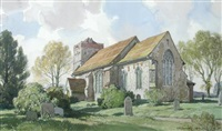 flowton, suffolk by leonard russel squirrell