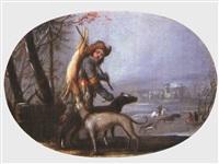 jagdszene by jan wouters
