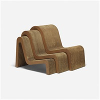 nesting chairs (set of 3) by frank gehry