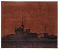 warspite (superstructure) by malcolm morley