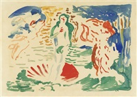 la naissance de vénus, d'après botticelli by andré derain