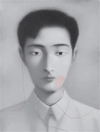 bloodline series no. 15 by xiaogang zhu