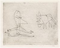 was läuft er by paul klee