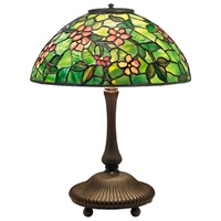 apple blossom table lamp by tiffany studios