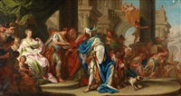 die heiligen drei könige vor herodes by sebastiano conca