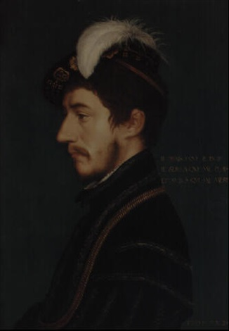 portrait of sir nicholas poyntz by hans holbein the elder
