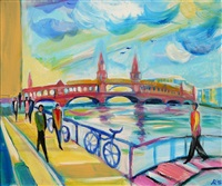 oberbaumbrücke berlin kunstmarkt