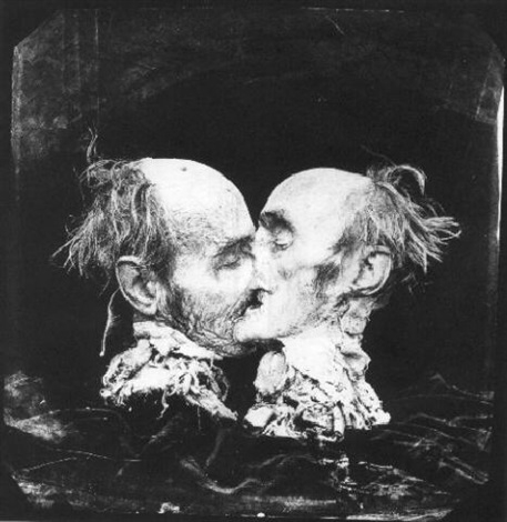 the kiss (le baiser), new mexico by joel-peter witkin