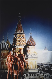 tourism: st. basil (2nd view) by laurie simmons