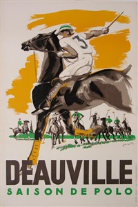 deauville saison de polo by michel jacquot