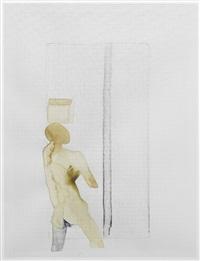 untitled i; untitled ii; untitled iii (3 works) by atul dodiya