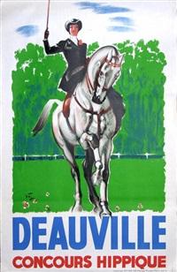 deauville concours hippique by michel jacquot
