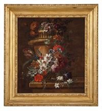 vaso fiorito by gaspar pieter verbruggen the younger