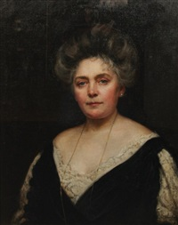 portrait of a lady by maud hall (rutherford) neale