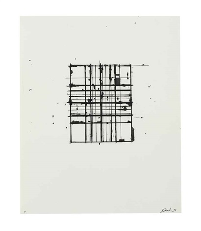 untitled 4 by brice marden