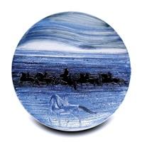 cavaliers dans les flots bleus by andré brasilier