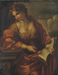 a sybil by giovanni francesco romanelli