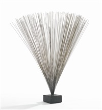 an early spray sculpture by harry bertoia