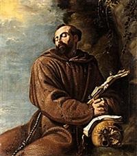 den helige franciskus by clemente de torres