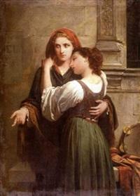 les musiciennes by pierre auguste cot