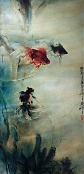 goldfish by lee man fong