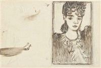 portrait de berthe schaedlin by pierre bonnard