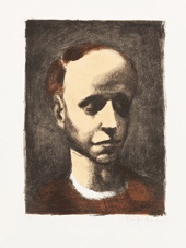 autoportrait iii by georges rouault