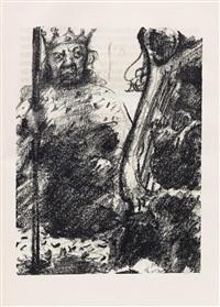 saul und david by lovis corinth