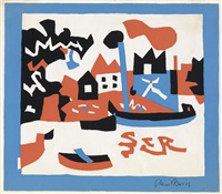 natural scene by stuart davis