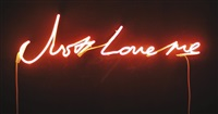 just love me by tracey emin