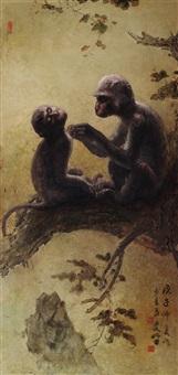 monkeys by lee man fong
