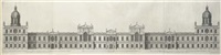 design for the royal palace at whitehall as it was presented to his majesty king charles i by inigo jones (+ 3 others: set of 4) by hendrick hulsbergh